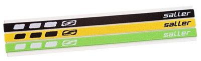 Saller haarbanden zwart-geel-groen